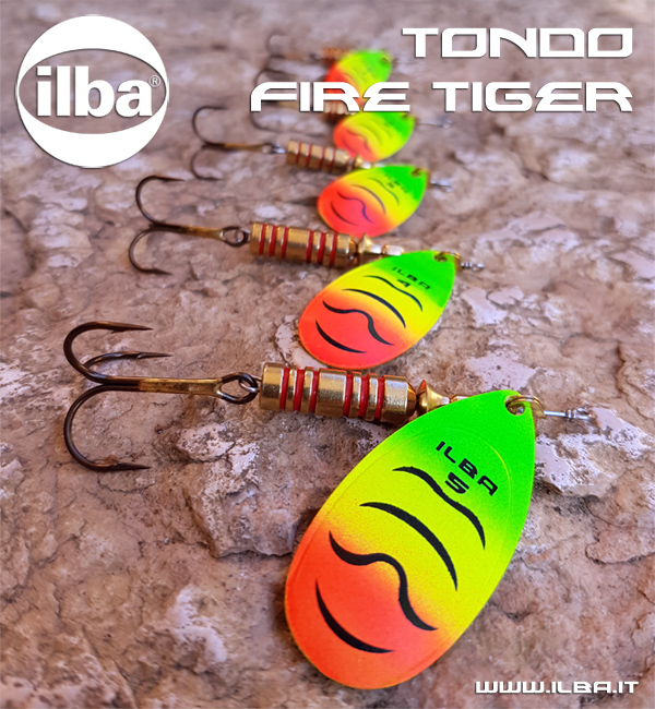 Spinners ILBA Tondo Fire Tiger