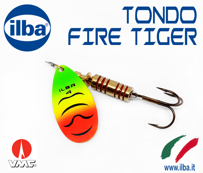 Nuovi spinners  Tondo Fire Tiger