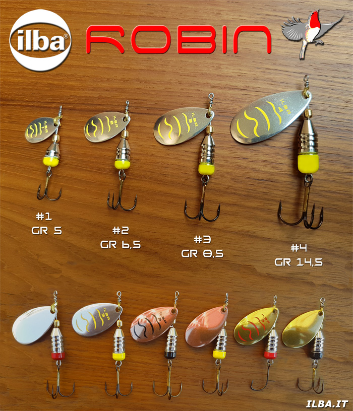 Spinner ROBIN by ILBA Lures